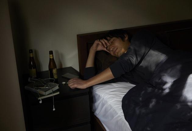 寝つきが悪い写真