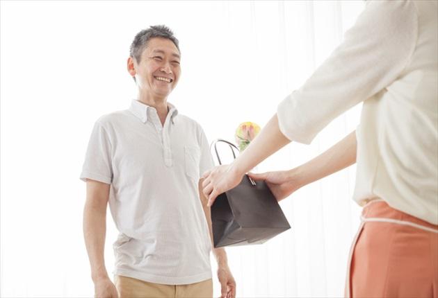 60歳男性へのプレゼント財布