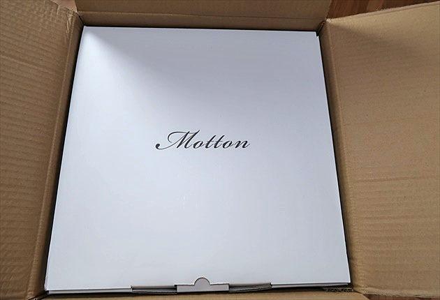 モットンの箱を開けてみると