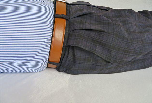 腰のアップ写真