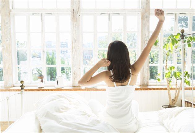 朝の快適な目覚め
